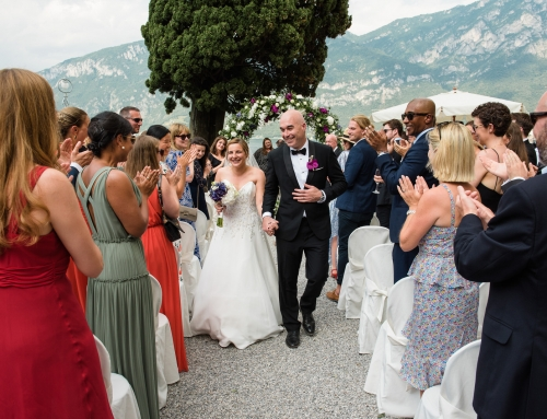 Laura & Daniel: matrimonio sul Lago di Como